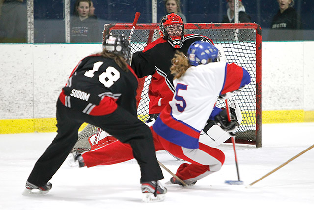Playing Ringette